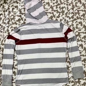 4her Carl Banks Tops - FSU Fashion Striped Hoodie